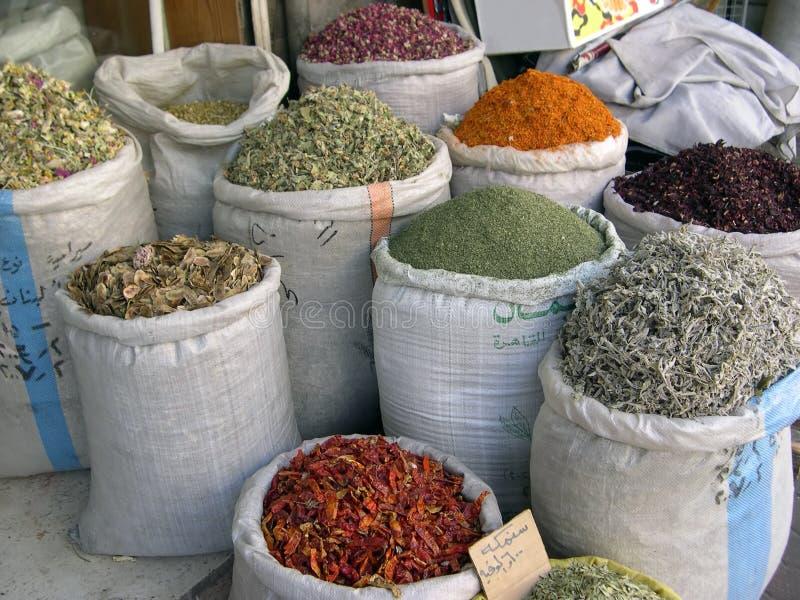 shoppa kryddan arkivbild