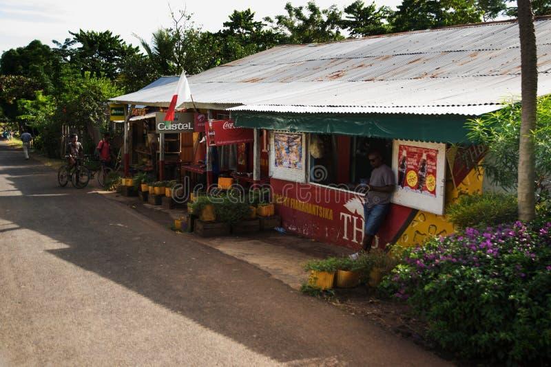 Shoppa Madagascar arkivbild