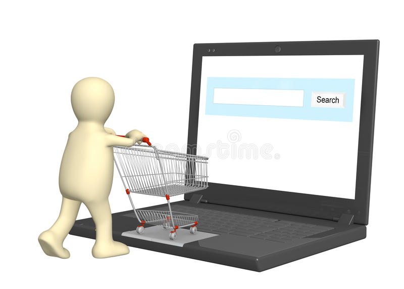 shoppa som är faktiskt vektor illustrationer