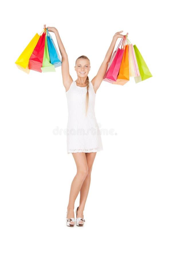 shoppare arkivfoto