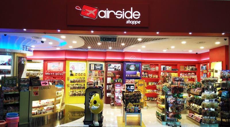 Shoppe di Airside immagini stock