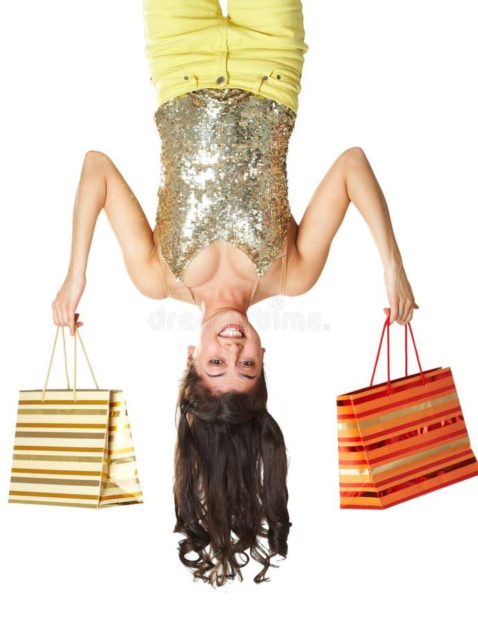 Shopper�s szczęście obrazy royalty free