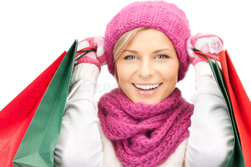 Download Shopper stock image. Image of caucasian, bright, enjoying - 21646119