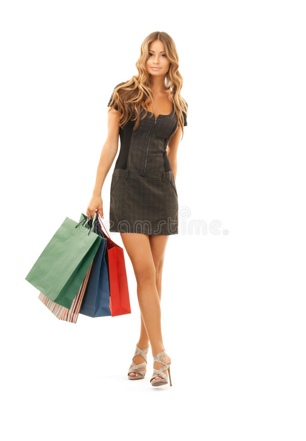Shopper royalty free stock photo