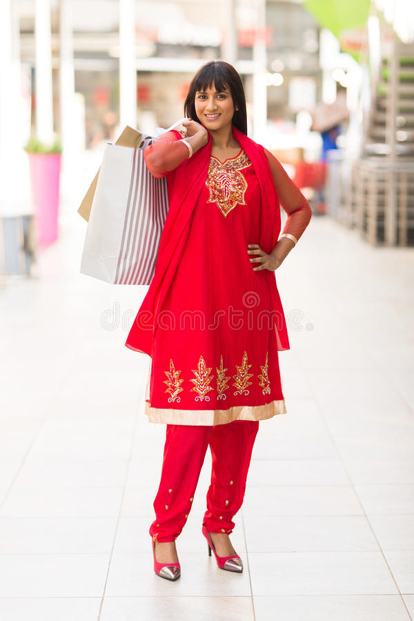 Shopper in mall stock images