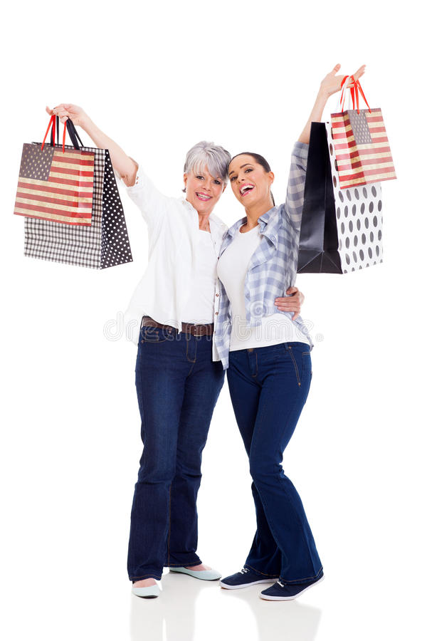 Download Shoppers Holding Purchases Stock Image - Image: 33857671