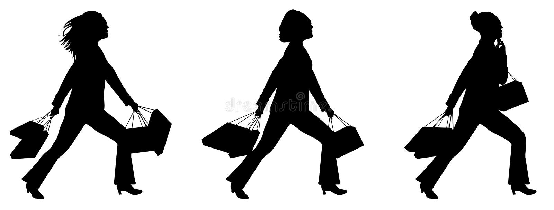 Shopping 1 vector illustration