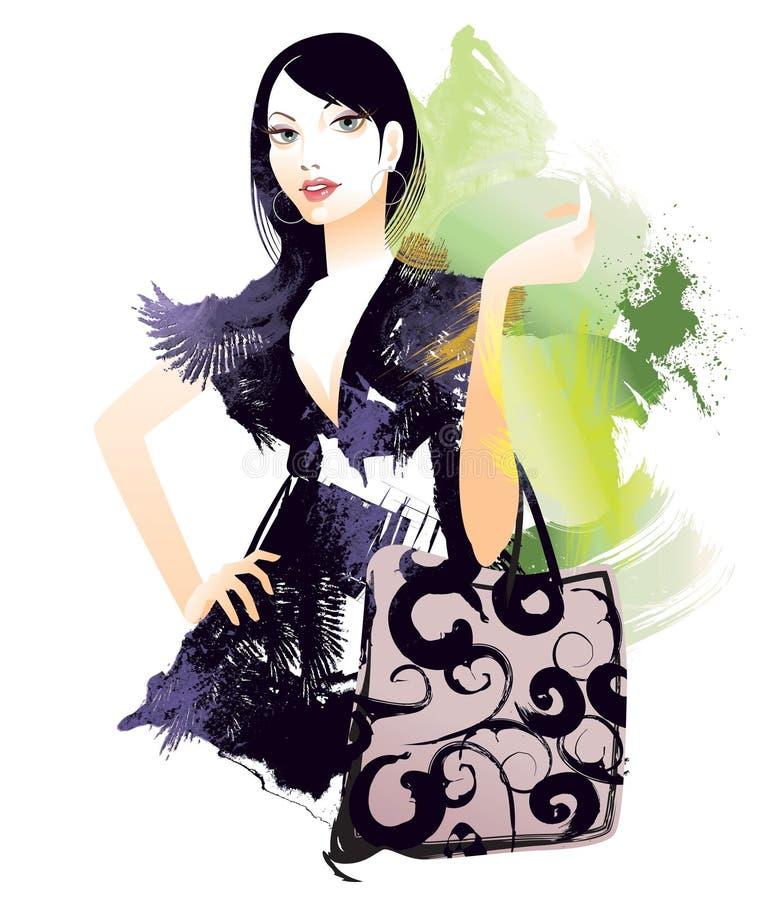 Shopping royalty free illustration