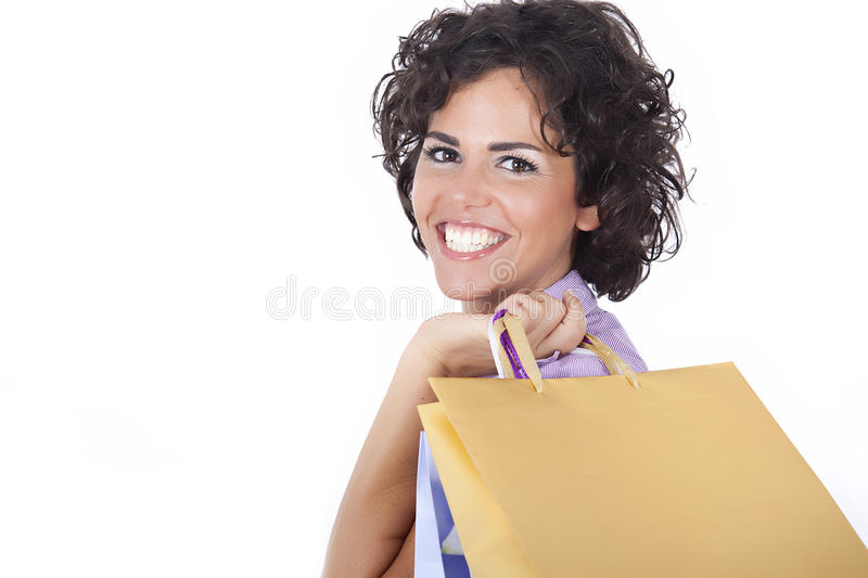 Download After shopping stock photo. Image of caucasian, looking - 11556490