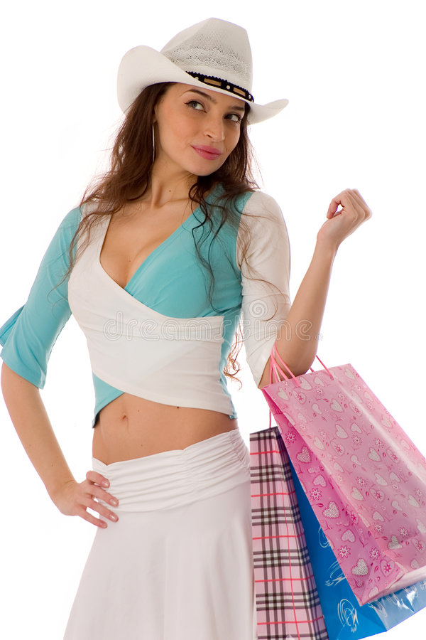 Download Shopping stock photo. Image of consumers, attractive, beauty - 3817882