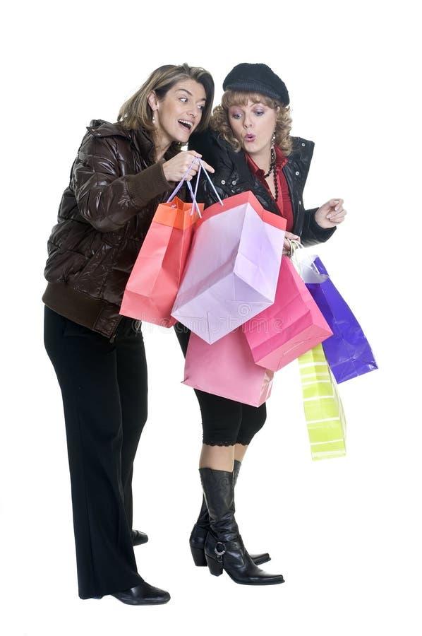 shopping royaltyfri foto