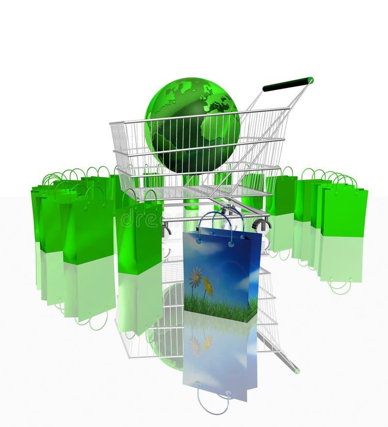 Download Shopping stock illustration. Illustration of cash, africa - 4506911