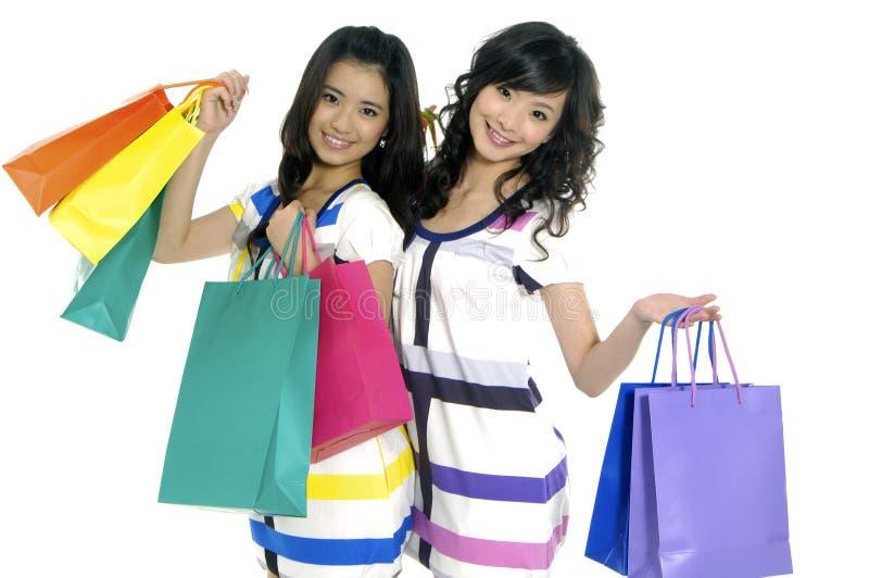 Download Shopping stock image. Image of joyful, beautiful, hair - 5403385