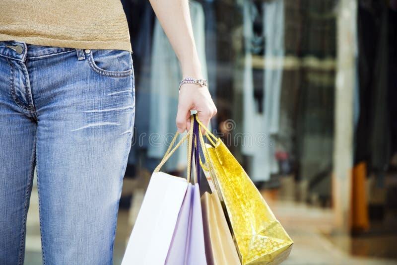 shopping στοκ φωτογραφία