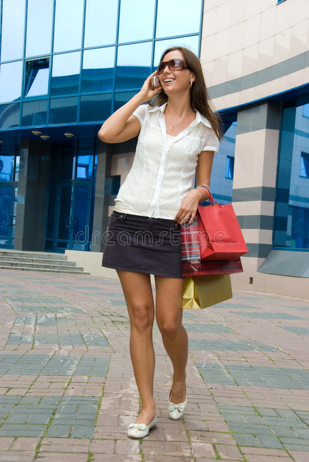 Download Shopping stock image. Image of leisure, happy, person - 5876547