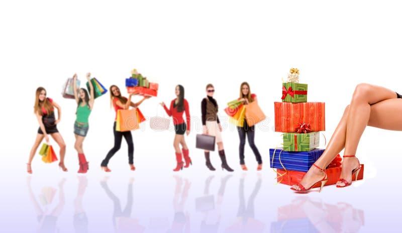Download Shopping stock photo. Image of birthday, giftbox, present - 7022882