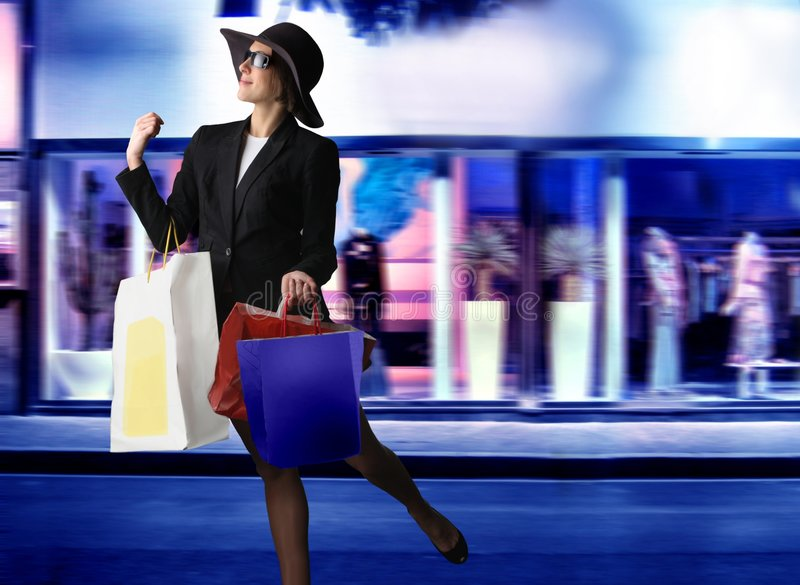 Download Shopping stock photo. Image of window, woman, shopping - 7873352