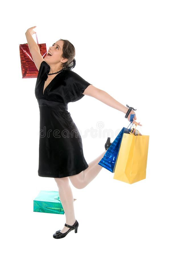 Download Shopping stock photo. Image of beautiful, isolated, expressing - 8116000