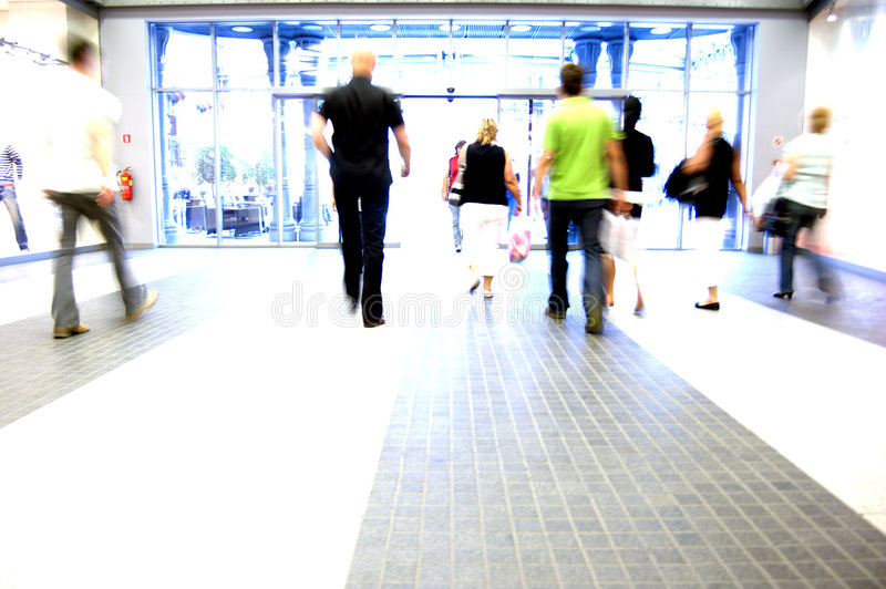 Shopping abstact royalty free stock photography