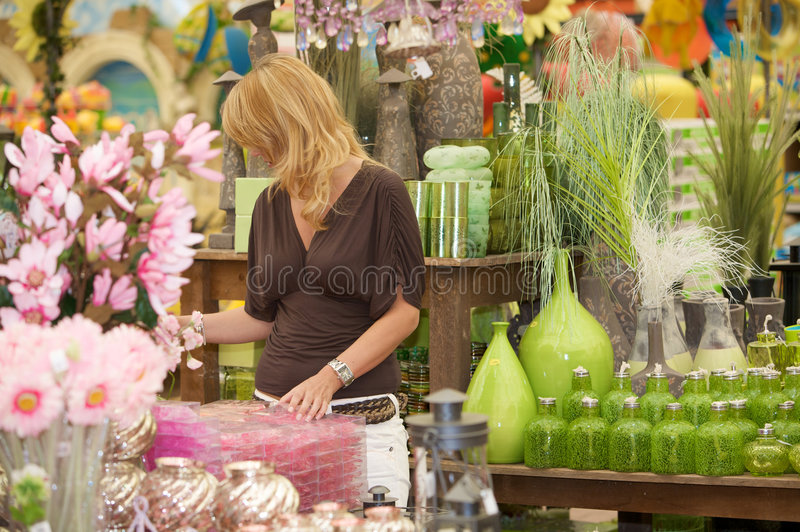 Shopping For Accessories Stock Photo