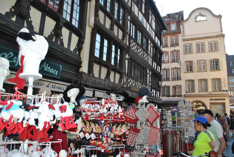 Download Shopping in alsace editorial photo. Image of artchitecture - 26881451