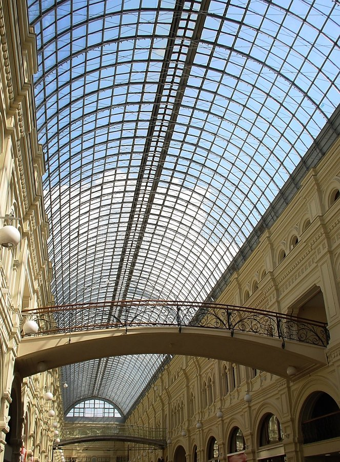 Download Shopping arcade stock image. Image of arcade, skylight - 158525