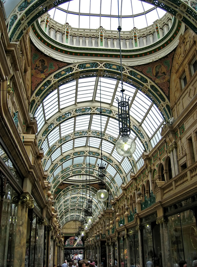 Download Shopping Arcade Royalty Free Stock Photo - Image: 512125