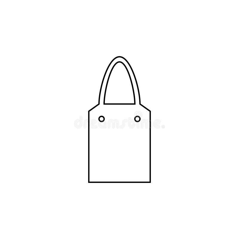 Shopping bag icon. Sele symbol vector illustration