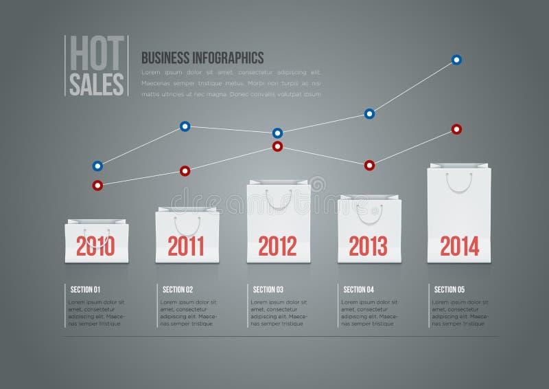 Shopping Bag Infographics