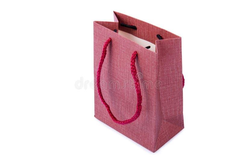 Shopping bag isolated on white background stock photography