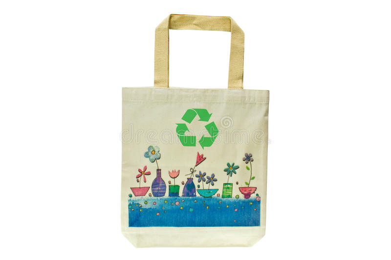 Download Shopping Bag Made Out Of Recycled Materials Stock Image - Image: 16657347