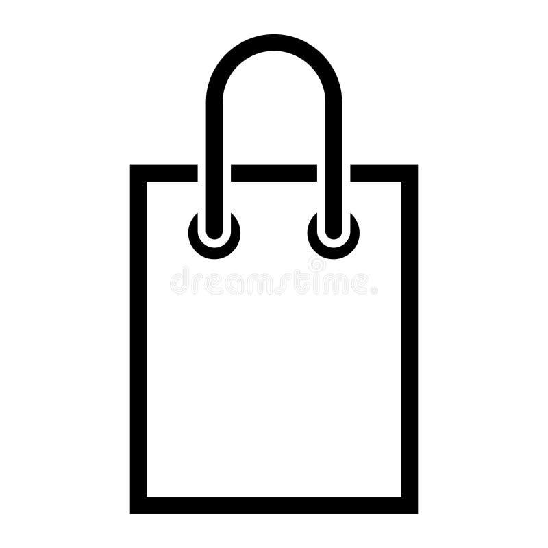 Shopping bag vector icon. Buy illustration symbol. For web sites. Shopping bag vector icon. Buy illustration symbol. For web sites or mobile royalty free illustration