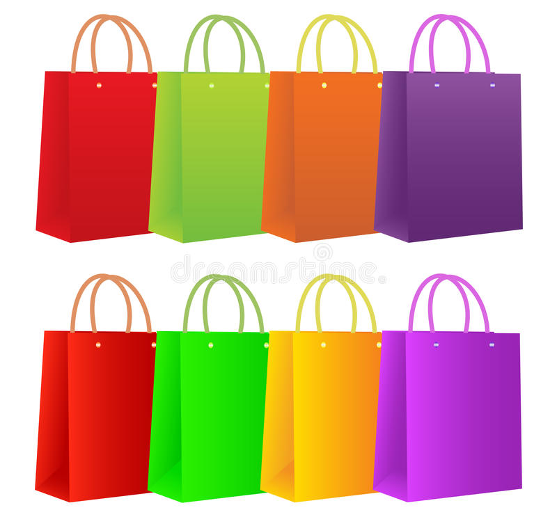 Free Shopping Bags Royalty Free Stock Photo - 14760345