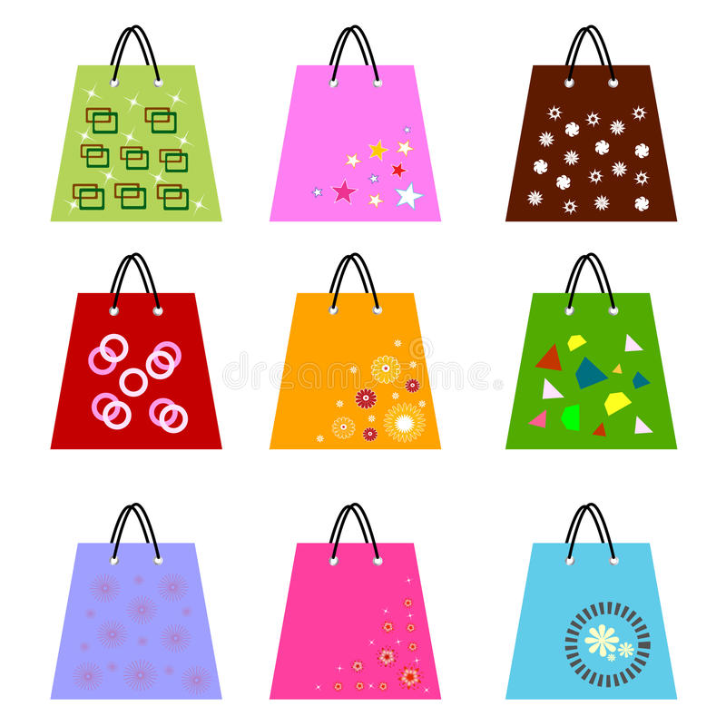 Download Shopping Bags Stock Photography - Image: 21547502