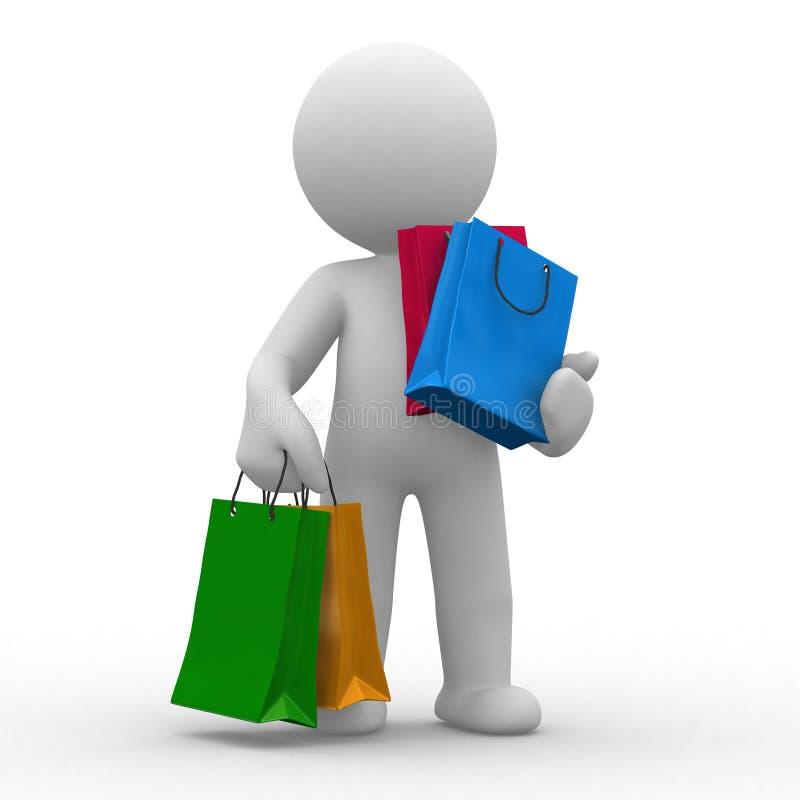 Free Shopping Bags Stock Image - 6906241