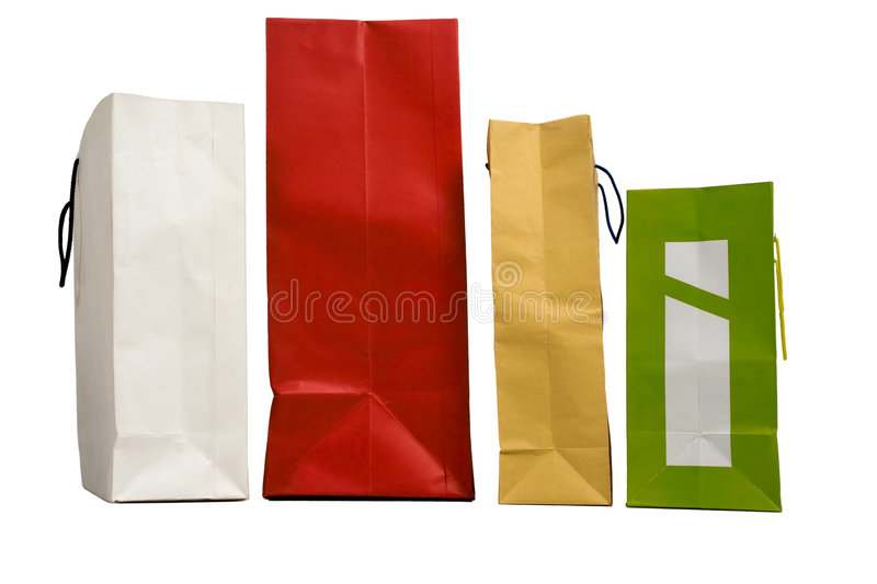 Download Shopping bags stock photo. Image of four, sale, isolated - 6941224