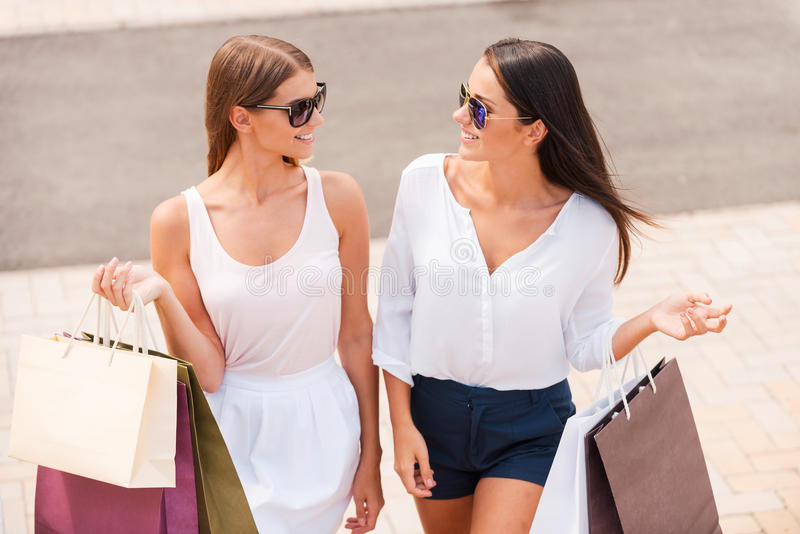 Shopping is the best therapy. stock photos