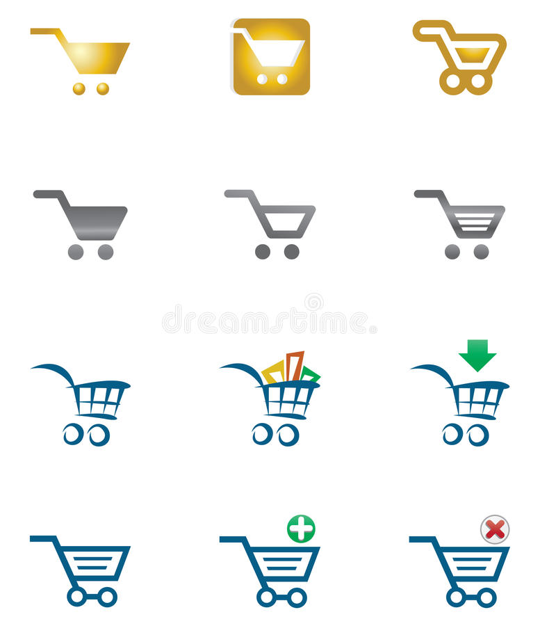 Free Shopping Cart Royalty Free Stock Images - 11641639