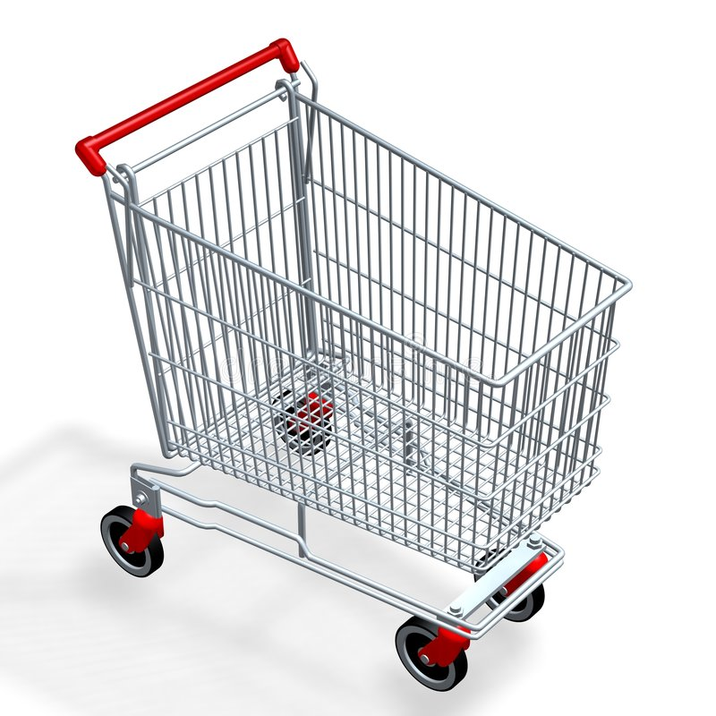 Download Shopping Cart stock image. Image of illustration, cart - 1821397