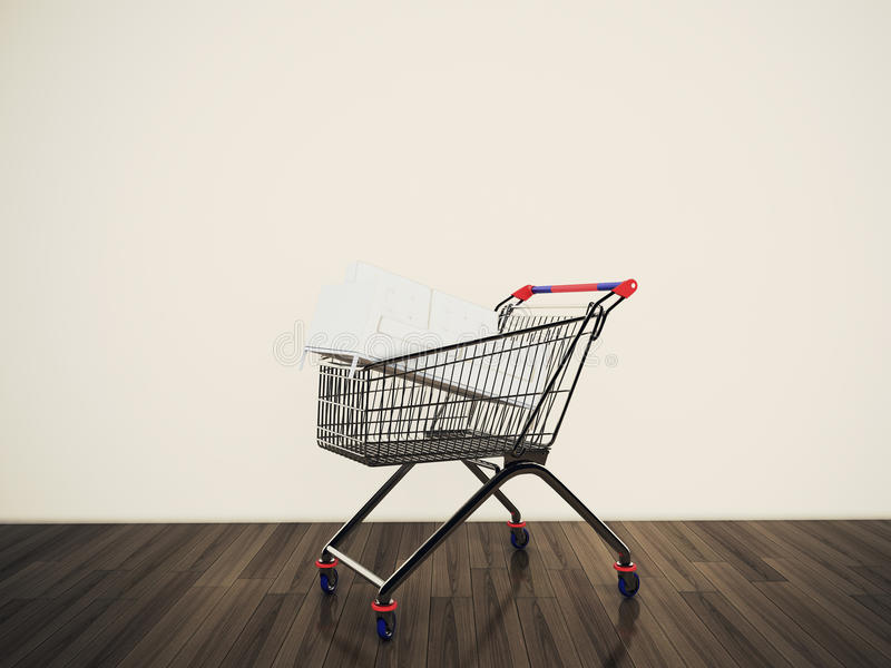 Download Shopping Cart Stock Photos - Image: 23108383
