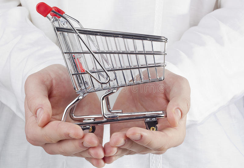 Download Shopping Cart stock photo. Image of basket, consumption - 25382922