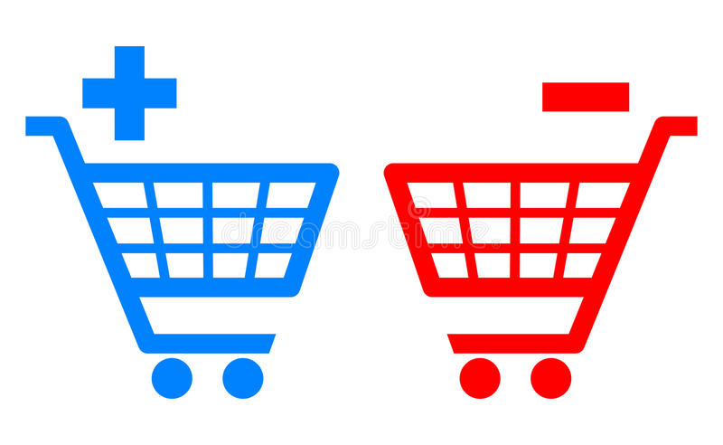 Download Shopping cart stock vector. Image of graphics, object - 25402911