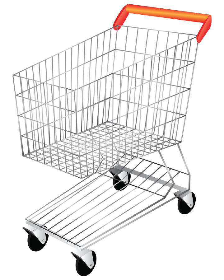 Download Shopping Cart stock vector. Illustration of truck, merchantry - 26572511