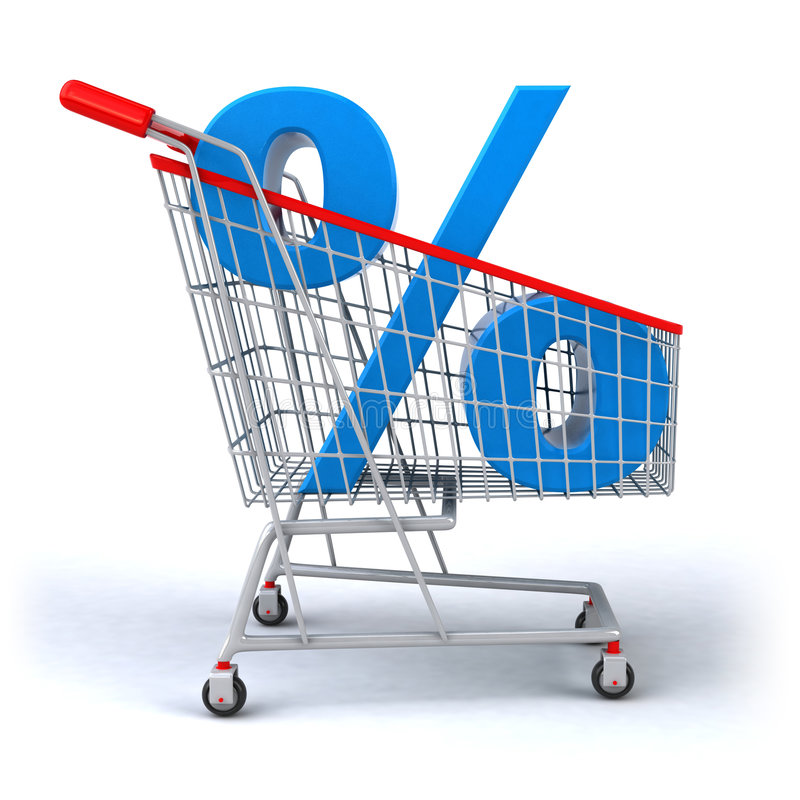 Download Shopping cart stock illustration. Illustration of retail - 5747650