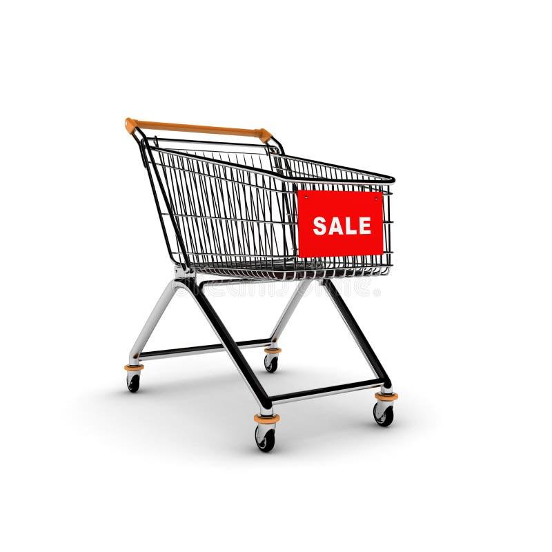 Download Shopping Cart stock illustration. Illustration of supermarket - 7909557