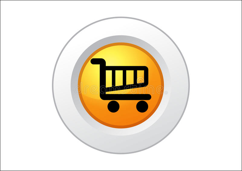 Download Shopping Cart Button Stock Image - Image: 10926061