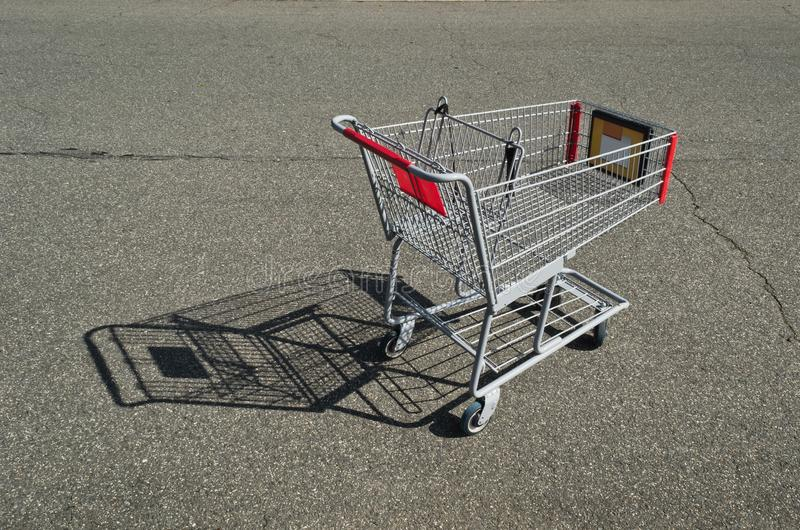 Download Shopping Cart Empty stock photo. Image of abandoned, lot - 27041188