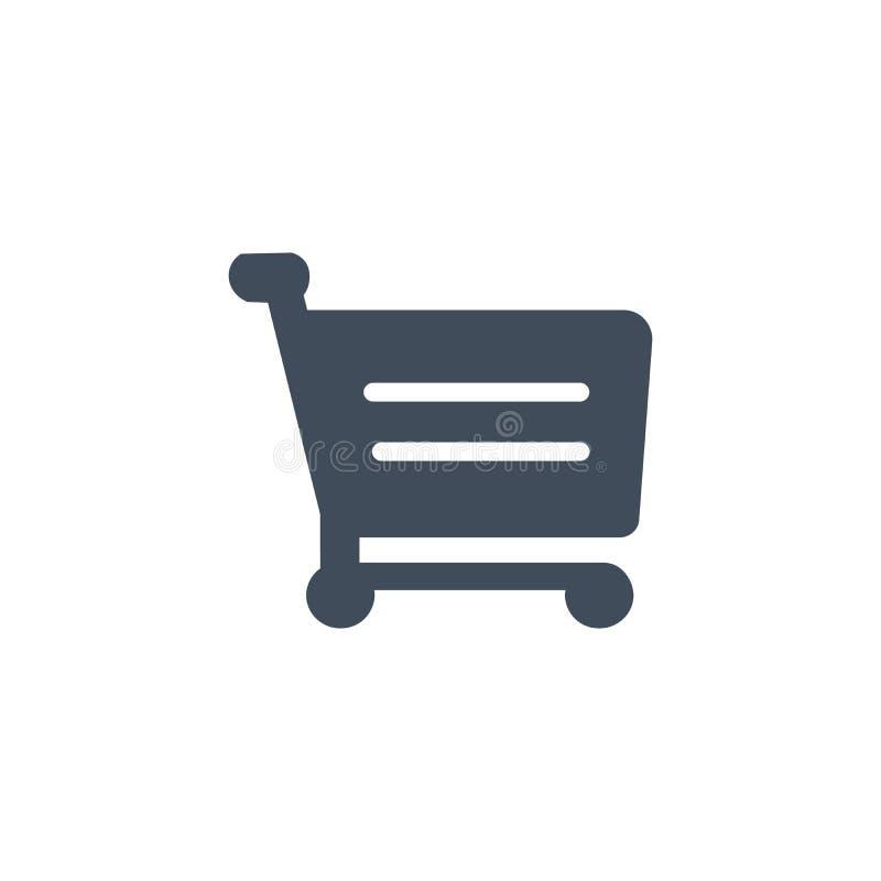 Shopping Cart Icon, flat design, vector illustration isolated on white background vector illustration