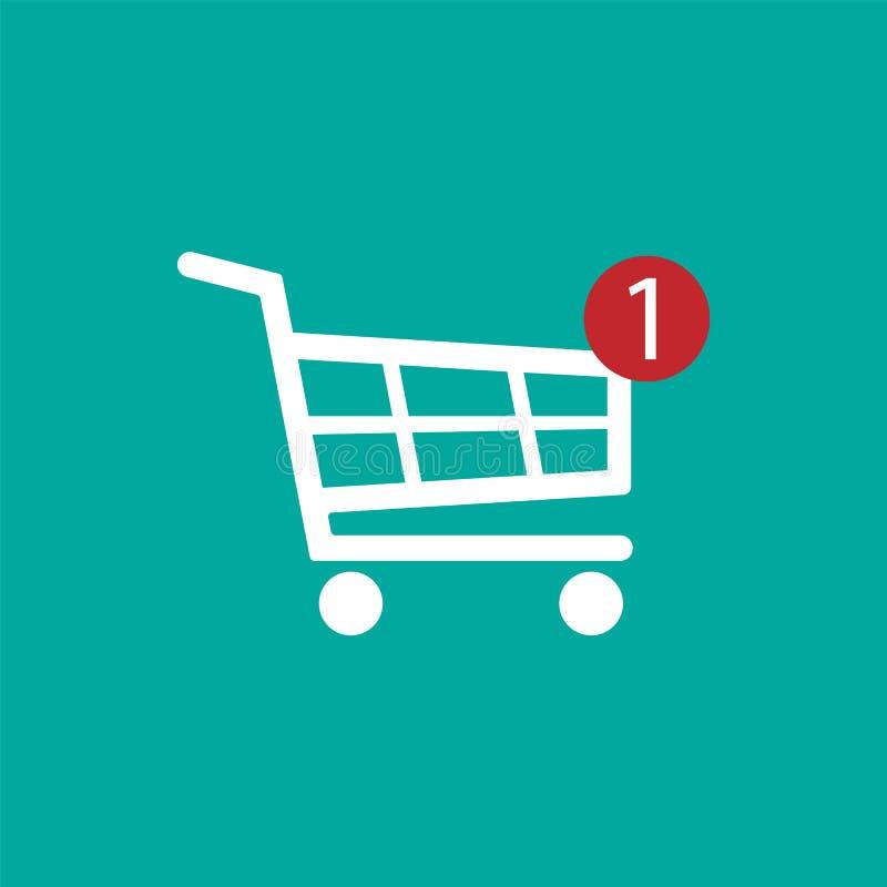 Shopping Cart icon. Vector illustration. stock illustration