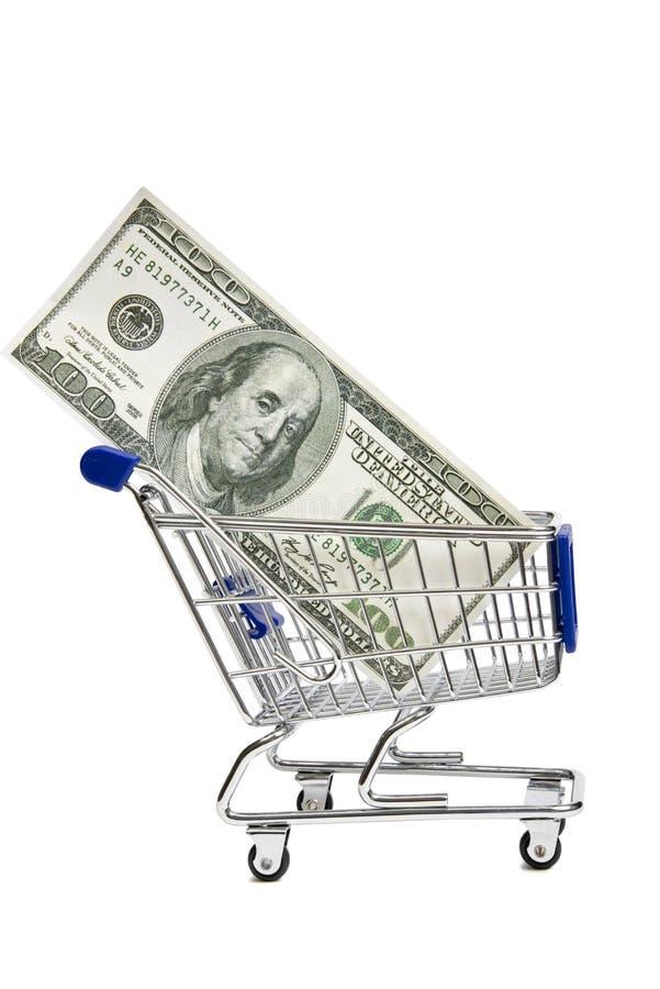 Shopping Cart With Money XXXL